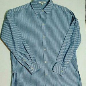 Madewell Pinstripe Button Down Shirt- Size XS